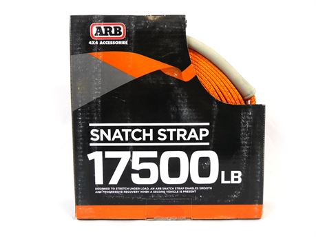 ARB ARB705LB Snatch Strap 30ft Recovery Strap 17,5000lb Breaking Strength |NEW!|