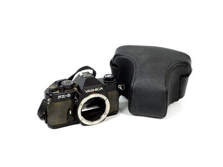 Vintage Yashica FX-3 35mm SLR Camera w/Case  No Lens 