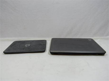 2 HP Laptops For Parts Or Repair