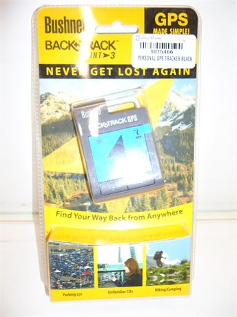 Bushnell Back Track Point 3 GPS Never Get Lost NIB