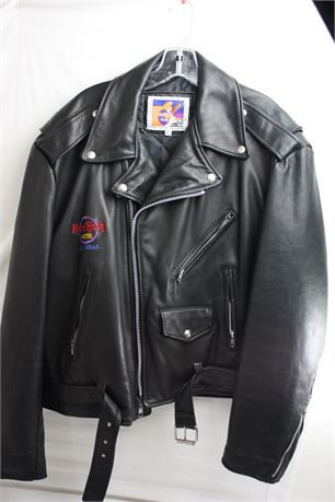 Hard Rock Hotel Las Vegas Leather Jacket