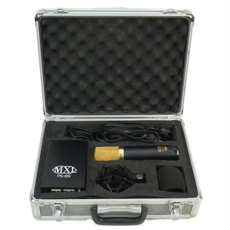 MXL V69 MOGAMI Edition Large Diaphragm Tube Condenser Microphone w/PS-69 PS