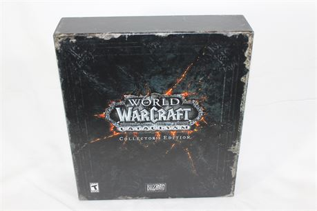 World Of Warcraft: Cataclysm Collectors Edition