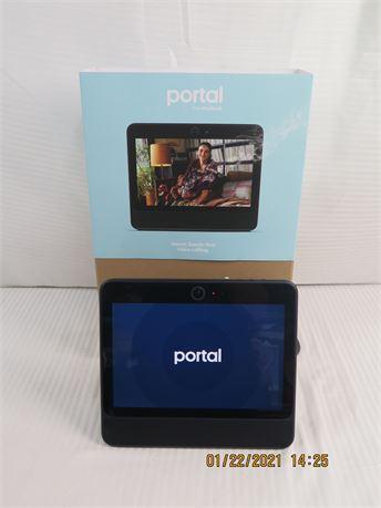 "Portal by FaceBook 10.1"" 1st Generation w/ Alexa Video Calling B81AO1BUS - NEW"