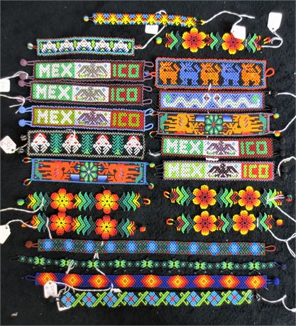 Lot of Hand Made Beaded Necklaces and Bracelets
