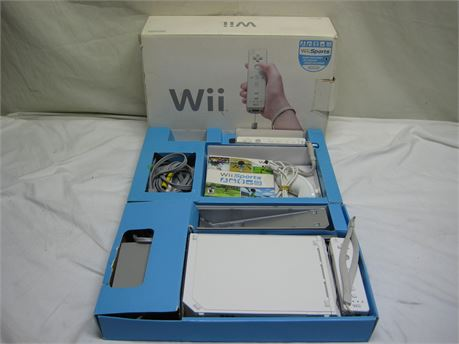 Complete Nintendo Wii Video Game System