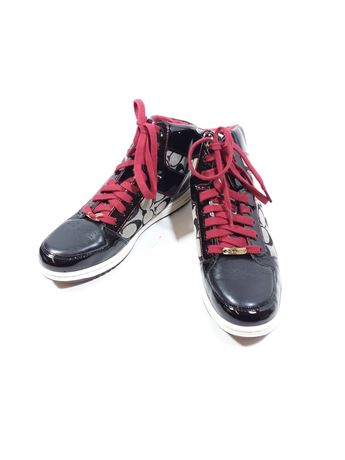 Coach Red Burgundy Color Shoes | Size 9.5