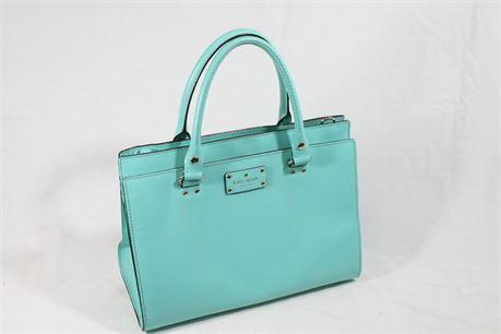 Kate Spade Blue Tote Bag