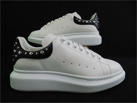 Alexander McQueen Studded Oversized Sneakers (Calfskin), Size:43