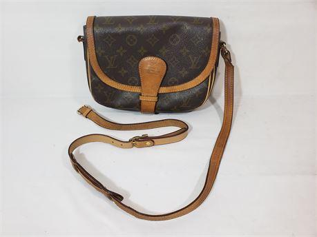 """Vintage Luis Vuitton Monogram Bag Purse. 10"""" X 8"""" X 2"""""""