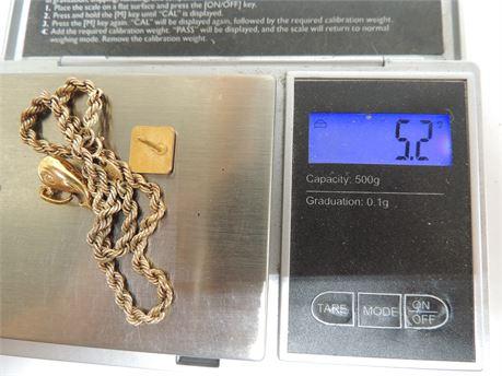5.2 Grams Of 10kt Gold