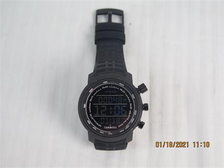 Suunto Elementum Terra Black Digital Premium Men's 48mm Wristwatch (670)