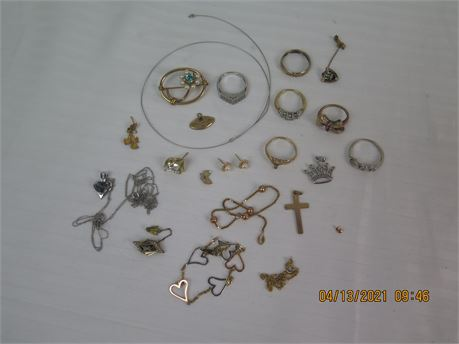 39.15g of 10k Gold Jewelry - Mostly Wearable (670)