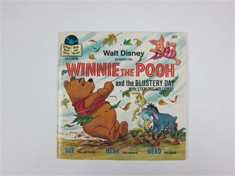 Vintage Disney's Winnie the Pooh Read-Along Book and Record (650)