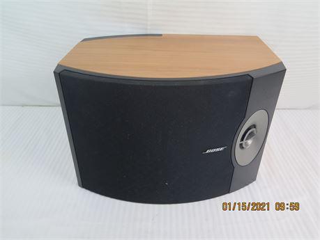 Single Bose 301 Series V Direct/Reflecting Bookshelf Speaker (670)