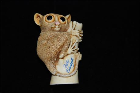 """Harmony Kingdom  """"Bush Baby"""" Handmade Boxes Crafted in the UK (500)"""