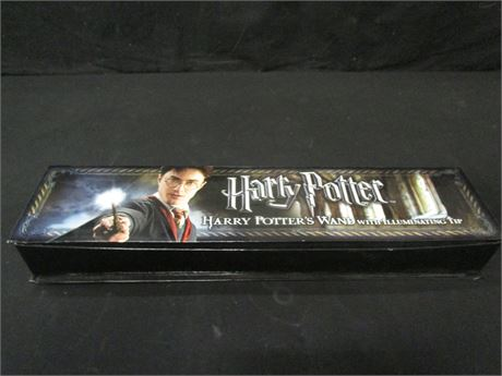 Harry Potter's Wand with Illuminating Tip