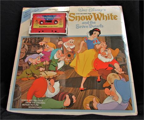 Snow White and the Seven Dwarfs: Complete Album on Cassette with Read Along Book