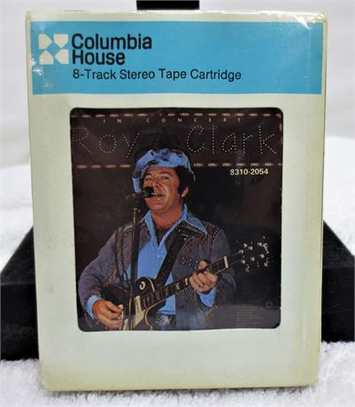 SEALED Roy Clark In Concert 8-Track Stereo Tape Cartridge