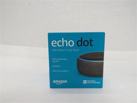 Amazon Echo Dot 3rd Generation Smart Speaker - NEW