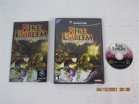 Fire Emblem: Path of Radiance (Nintendo GameCube, 2005) Complete; CD Not Working