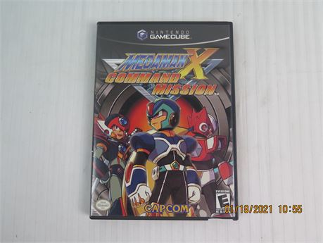 Mega Man X: Command Mission (Nintendo GameCube, 2004) Complete; Great Condition