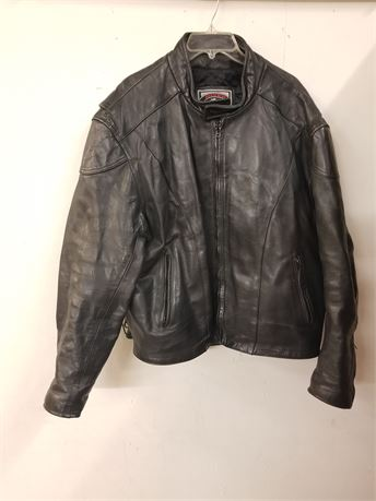 River Road Size 54 Men's Genuine Leather Jacket