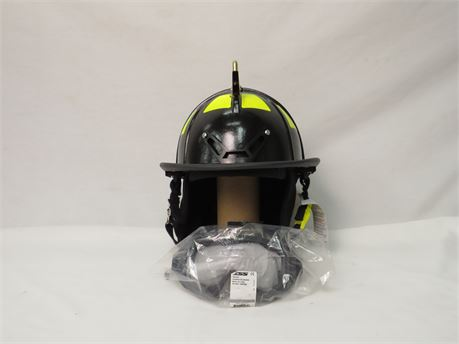 Carnis Fire Helmet With Eye Protection (New With Tags)