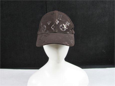 Louis Vuitton Dark Brown Baseball Cap #BB114 (650)