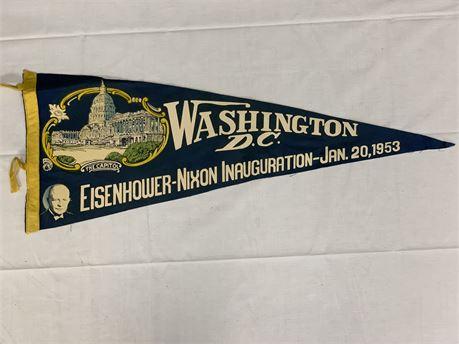 Eisenhower-Nixon Inauguration Banner