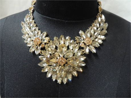 Thursday's Necklace Of The Day! Like A RHINESTONE Cowboy...