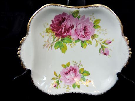 American Beauty Pattern  Bone China Bon Bon Dish by Royal Albert England