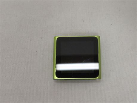 Apple iPod Nano 6th Generation Model A1366 8GB Green - Tested