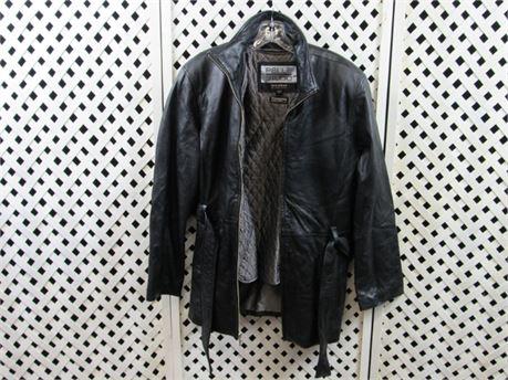 Wilsons Pelle Studio Black Leather Jacket Size Large #BB210 (650)