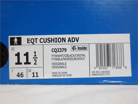 Size 11.5 Adidas EQT Cushion ADV Shoes