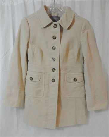 Ann Taylor Petites Women's Size Small Soft Beige Jacket
