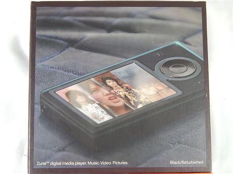 Zune Refurbished 30 GB1 Digital Media Player Black (270r5s2)