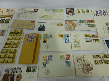 Assortment of Stamps Collection Lot Christmas Sea Foreign International