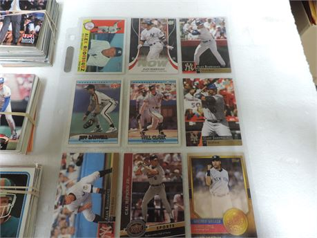 Lots Of Cards Baseball , Football Assorted 250+ Cards