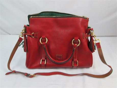 Dooney & Bourke Red Leather