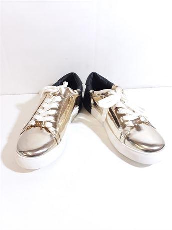 Bebe Sport Shoes Black/Gold Size 7.5