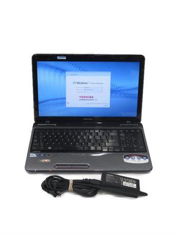 """Toshiba Satellite L755 15.6"""" Laptop - Win 7, Intel Pentium, 4GB, 640GB (670)"""