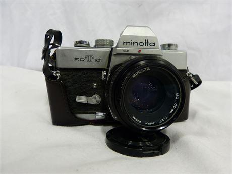 Vintage Minolta SRT 101 Film Camera
