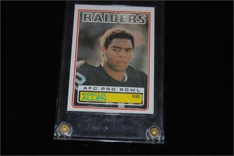 Marcus Allen Collectors Card (500)