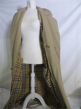 Imitation Burberry(S) Men's Trench Coat, Large