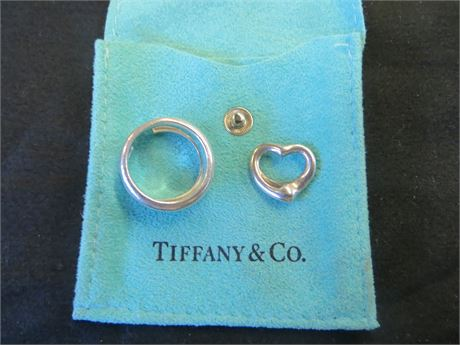 925 Tiffany & Co Ring And Pendant