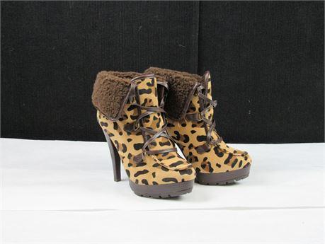 New Anne Michelle Revenge High Heel Boots Size 8.5 #BB380 (650)