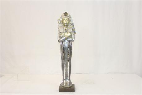 Decorative Egyptian Pharaoh Statue 21 in