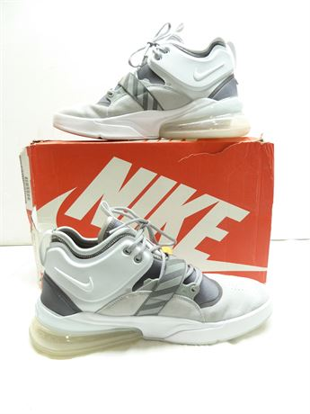 Nike Air Force 270,Athletic Shoes; AH6772 002,Wht/Gry, Sz.11.5