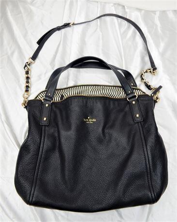 Kate Spade Black Hobo Cross-Body Bag